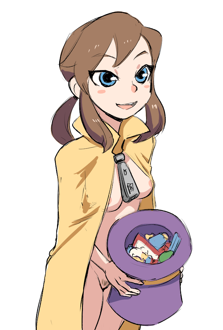 the what conductor in hat time is Haha musume donburi sakie vs rumi