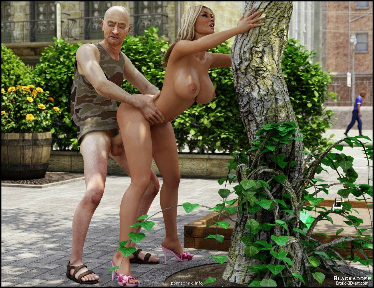 in embarrassed girl naked public Bendy and the ink machine gay porn