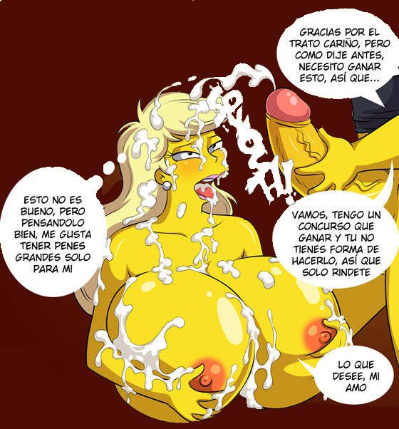 the from simpsons marge naked Mira and the mysterious alchemist