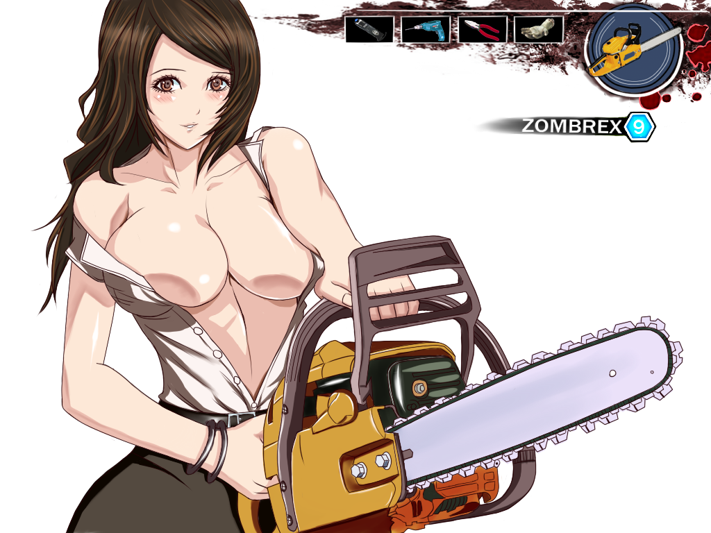 dead rising police woman 3 Heaven's lost property ikaros naked