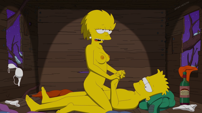 and simpson xxx bart lisa Ghost in the shell borma