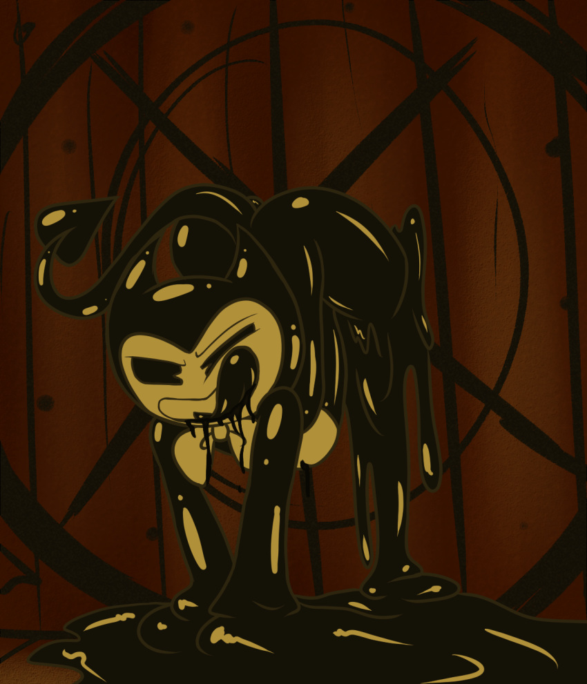 for ink machine the bendy the quest Legend of zelda wall master