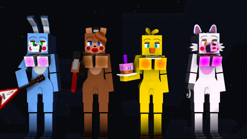 chica or mangle fnaf toy Kally trials in tainted space