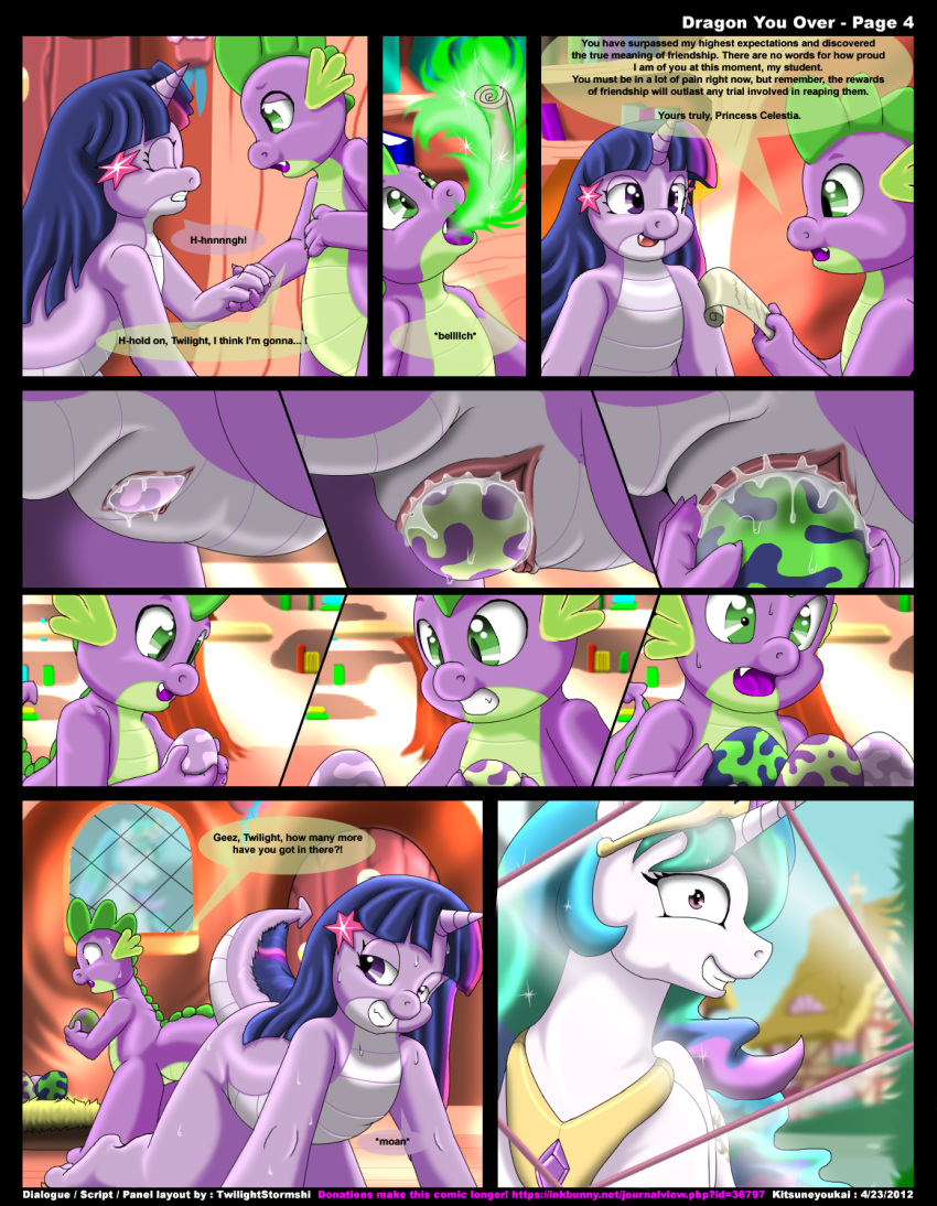 pony little friendship my is tlckle magic spike I said slay the dragon not lay the dragon