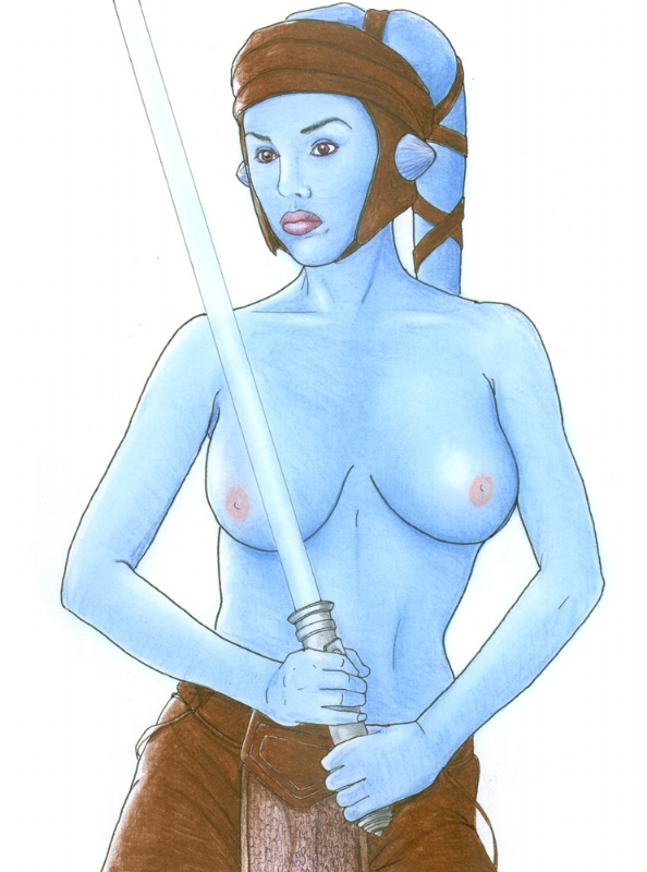 aayla star naked wars secura Scp-1471-a.