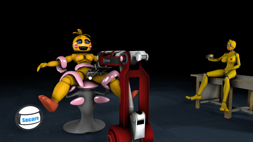 toy mangle fnaf chica or Earth chan is a trap